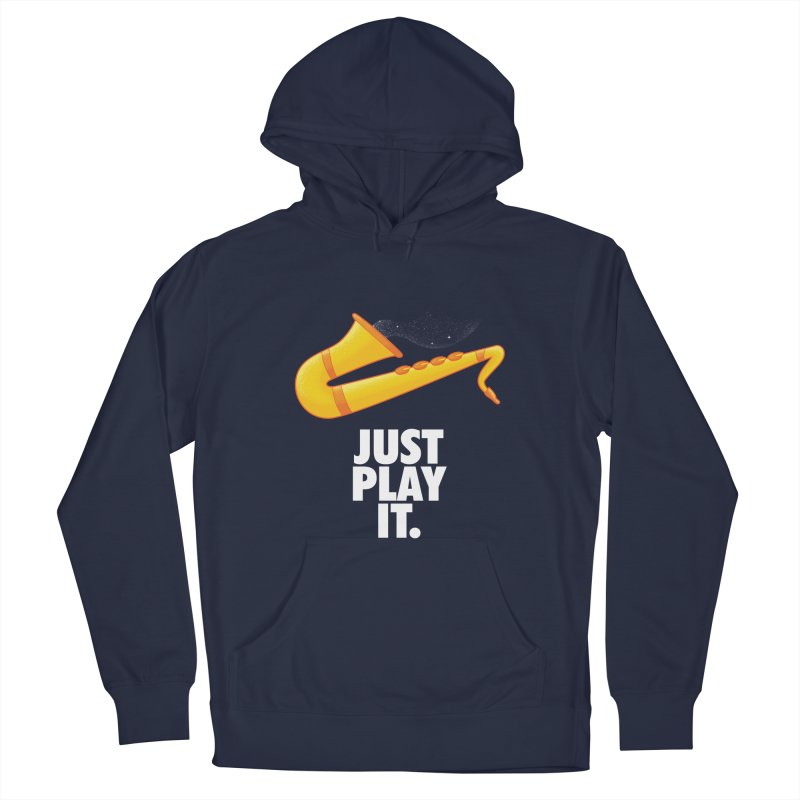 Just Play It Men's Pullover Hoody by Opippi