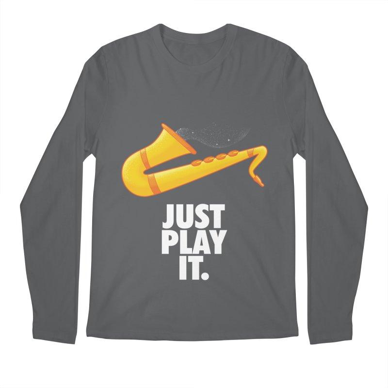 Just Play It Men's Longsleeve T-Shirt by Opippi
