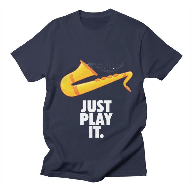 Just Play It Women's Regular Unisex T-Shirt by Opippi
