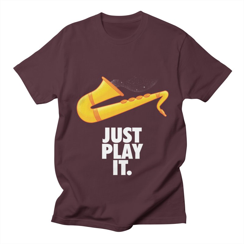 Just Play It Men's Regular T-Shirt by Opippi