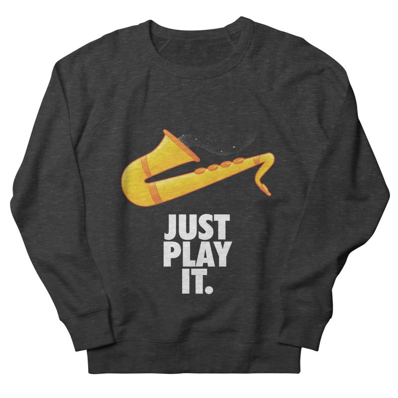 Just Play It Women's French Terry Sweatshirt by Opippi