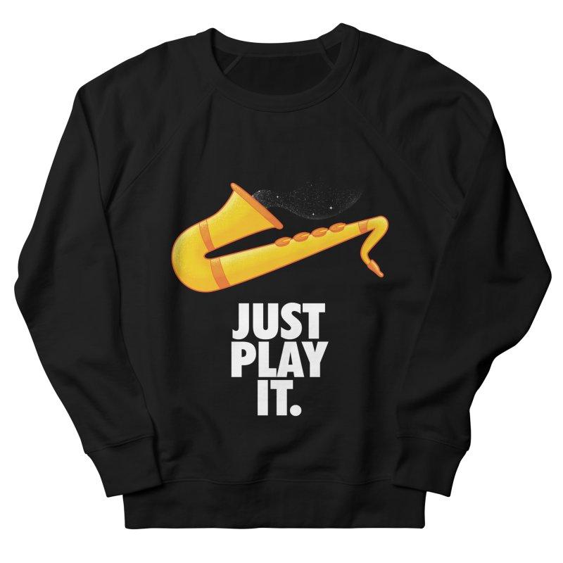 Just Play It Men's Sweatshirt by Opippi