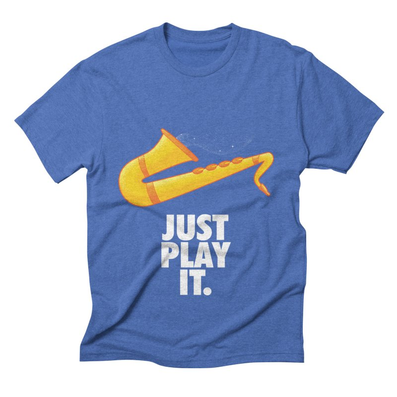 Just Play It Men's Triblend T-Shirt by Opippi