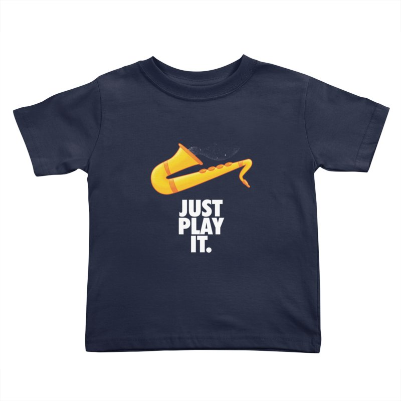 Just Play It Kids Toddler T-Shirt by Opippi
