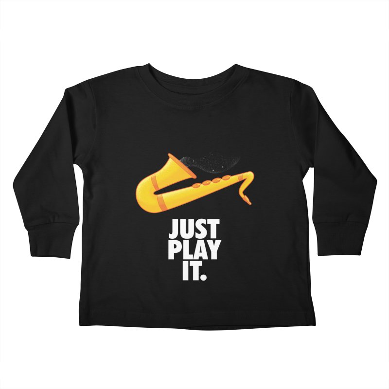 Just Play It Kids Toddler Longsleeve T-Shirt by Opippi