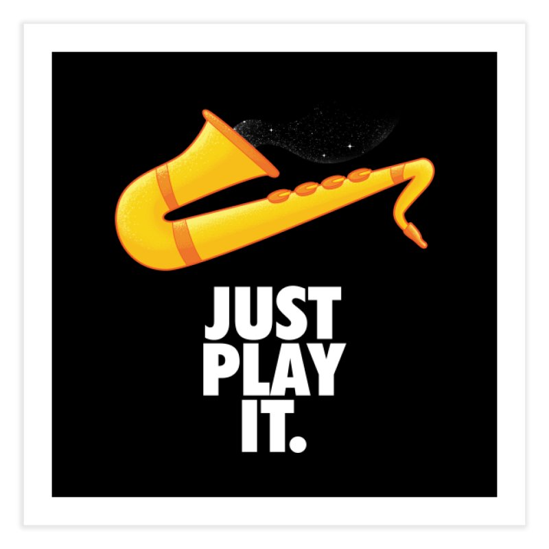 Just Play It Home Fine Art Print by Opippi