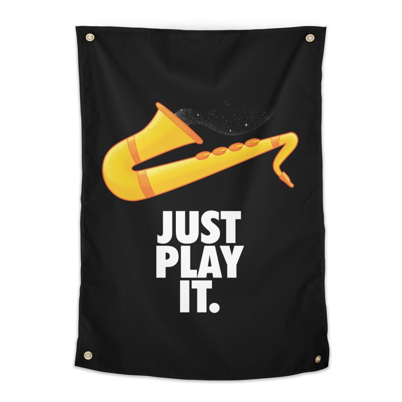 Just Play It Home Tapestry by Opippi