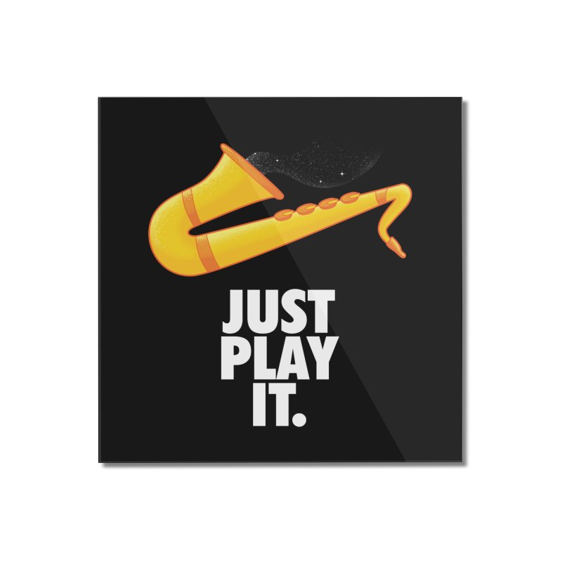 Just Play It Home Mounted Acrylic Print by Opippi