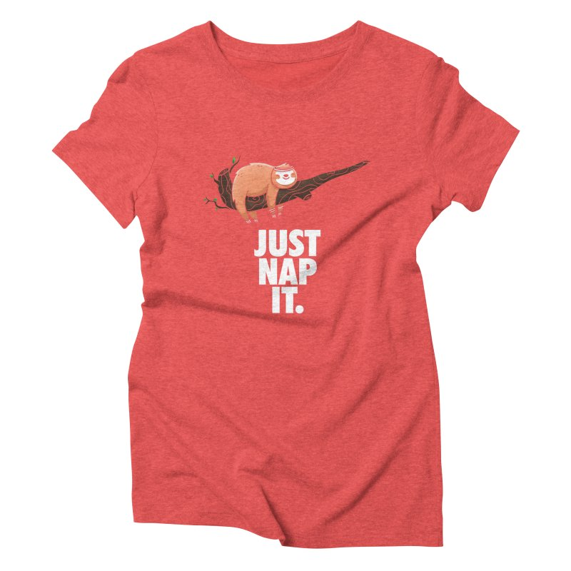 Just Nap it Women's Triblend T-Shirt by Opippi