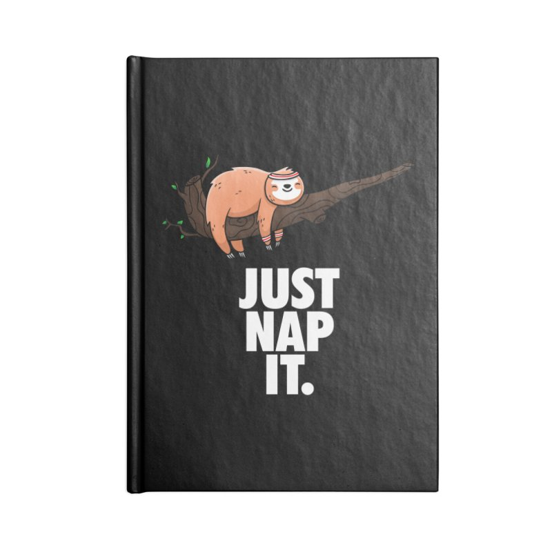 Just Nap it Accessories Lined Journal Notebook by Opippi