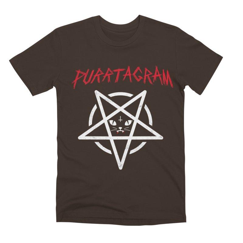 PURRTAGRAM Men's Premium T-Shirt by Opippi