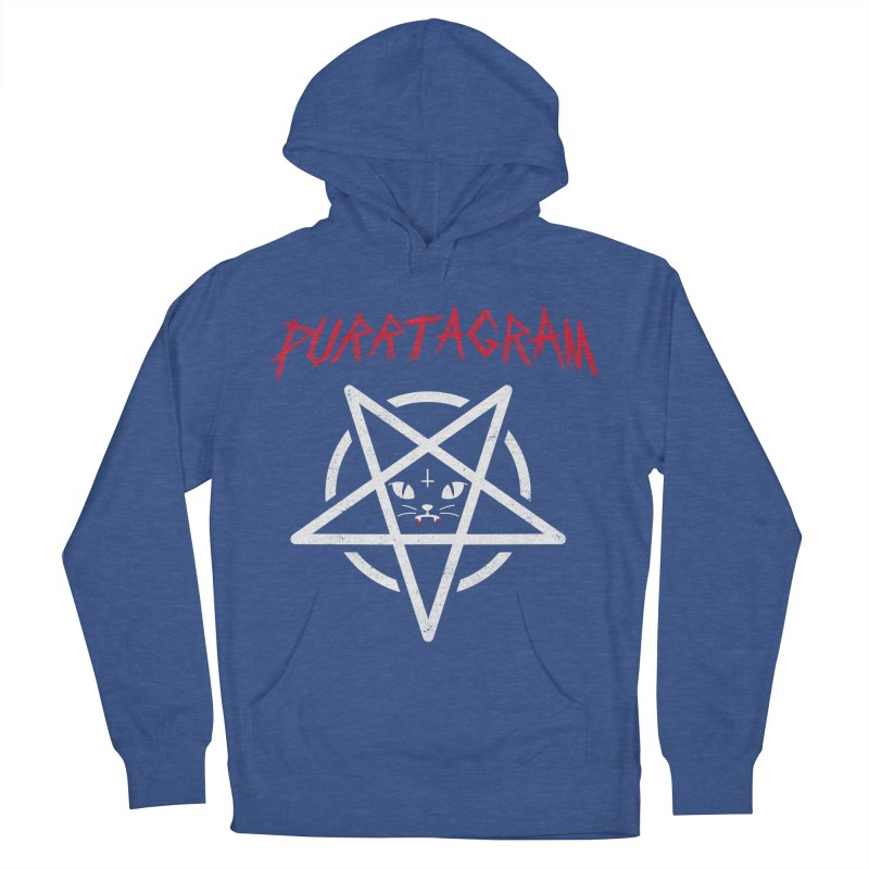 PURRTAGRAM Women's French Terry Pullover Hoody by Opippi