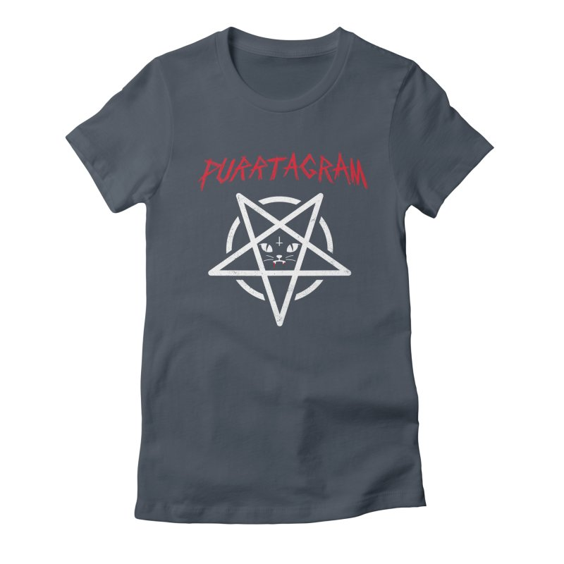 PURRTAGRAM Women's Fitted T-Shirt by Opippi