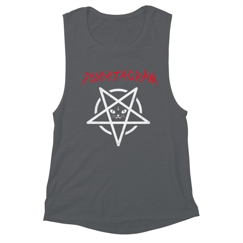 PURRTAGRAM Women's Muscle Tank by Opippi