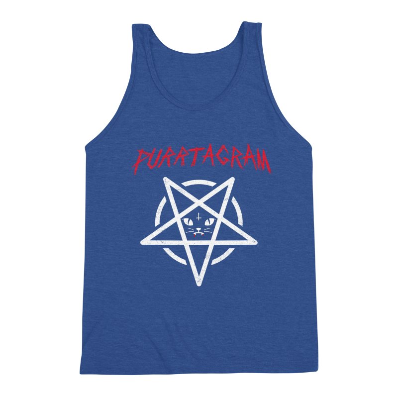 PURRTAGRAM Men's Triblend Tank by Opippi