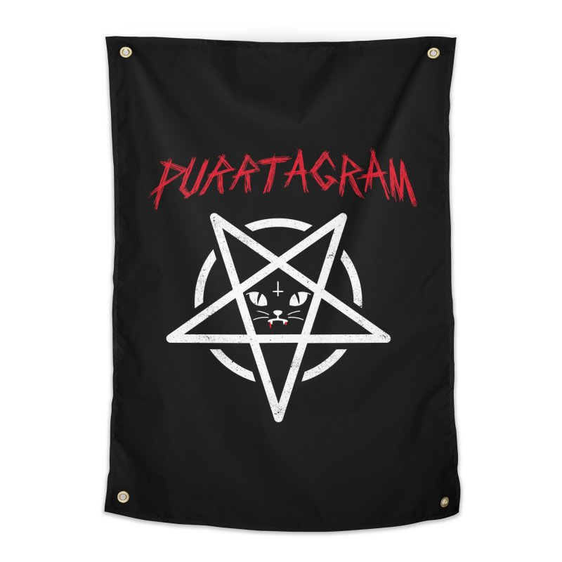 PURRTAGRAM Home Tapestry by Opippi