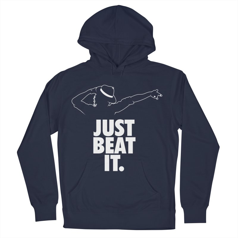 Just Beat it Men's French Terry Pullover Hoody by Opippi