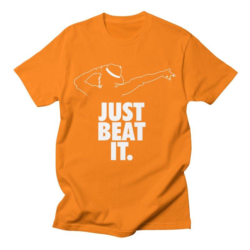Just Beat it Men's Regular T-Shirt by Opippi