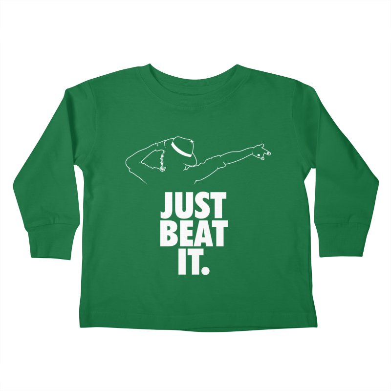 Just Beat it Kids Toddler Longsleeve T-Shirt by Opippi
