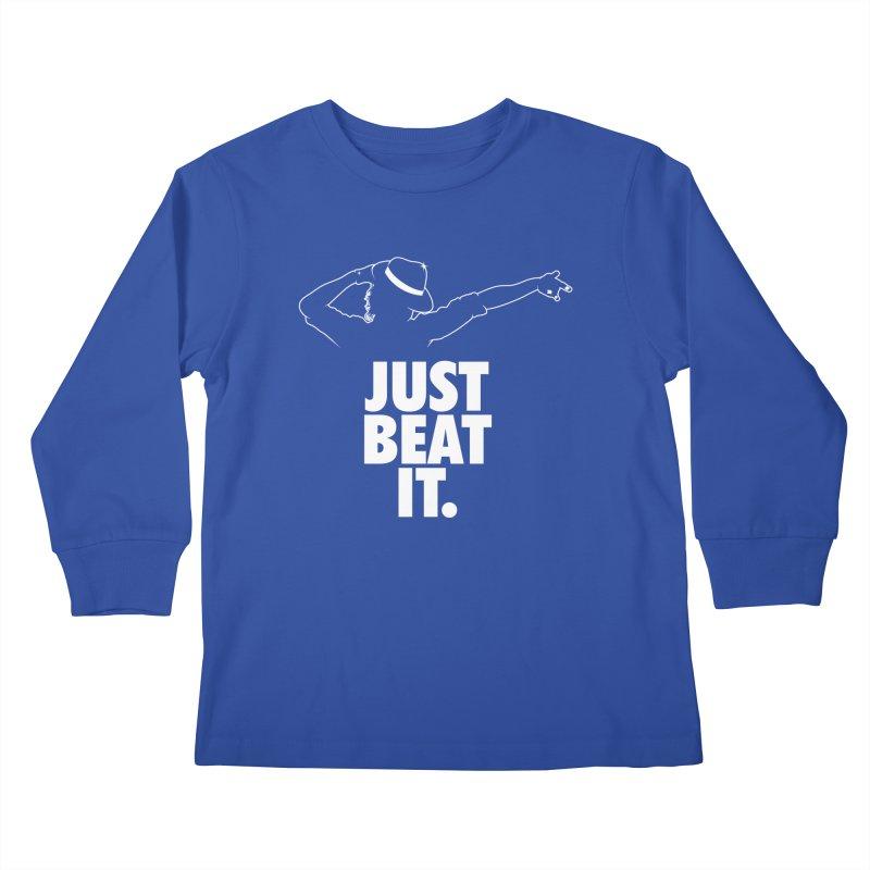 Just Beat it Kids Longsleeve T-Shirt by Opippi