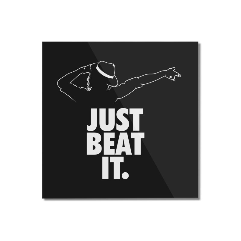 Just Beat it Home Mounted Acrylic Print by Opippi