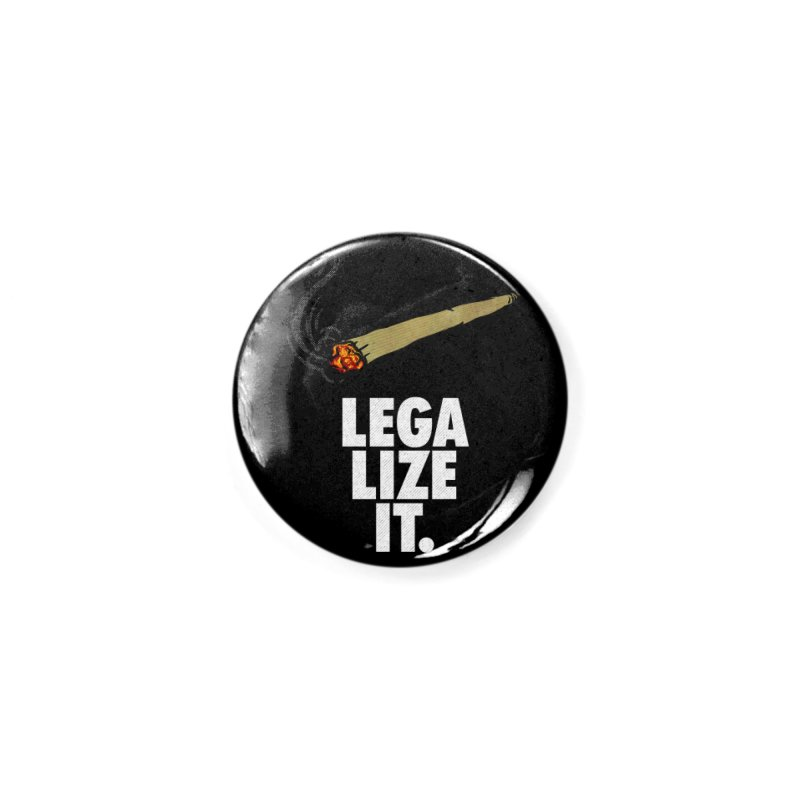 Legalize It Accessories Button by Opippi