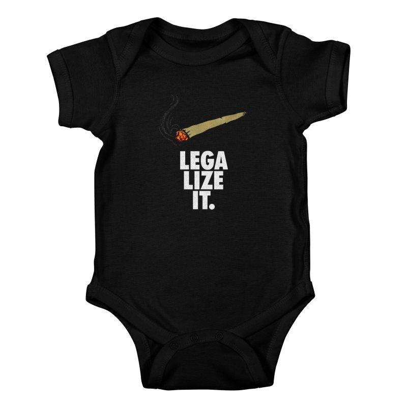 Legalize It Kids Baby Bodysuit by Opippi