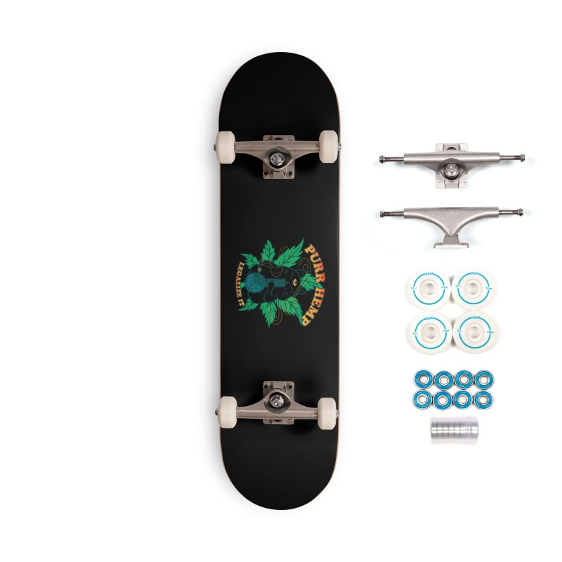 PURR HEMP Accessories Complete - Basic Skateboard by Opippi