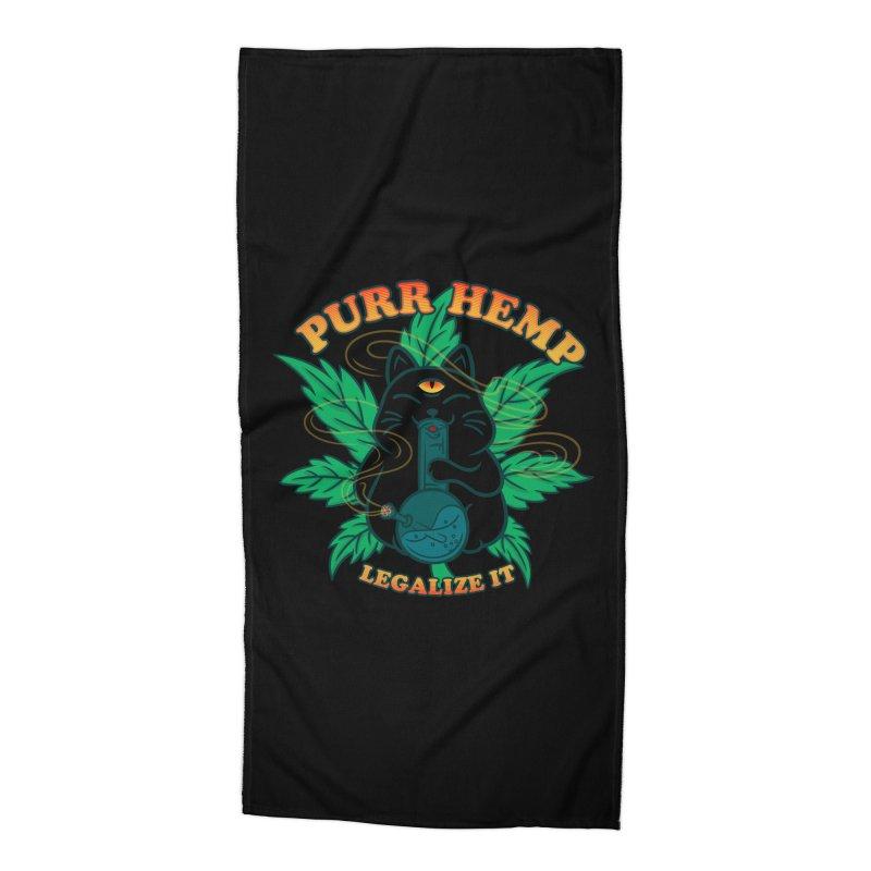 PURR HEMP Accessories Beach Towel by Opippi
