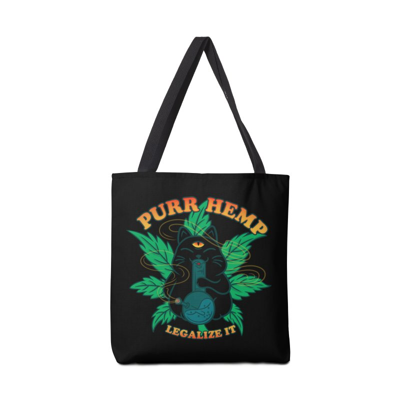 PURR HEMP Accessories Tote Bag Bag by Opippi