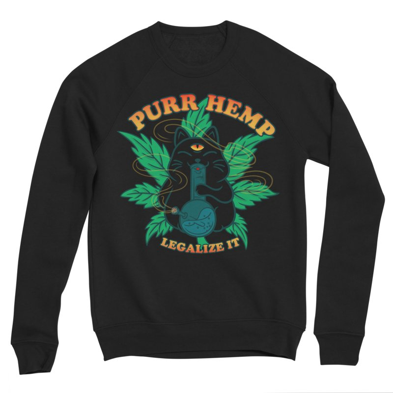 PURR HEMP Women's Sponge Fleece Sweatshirt by Opippi