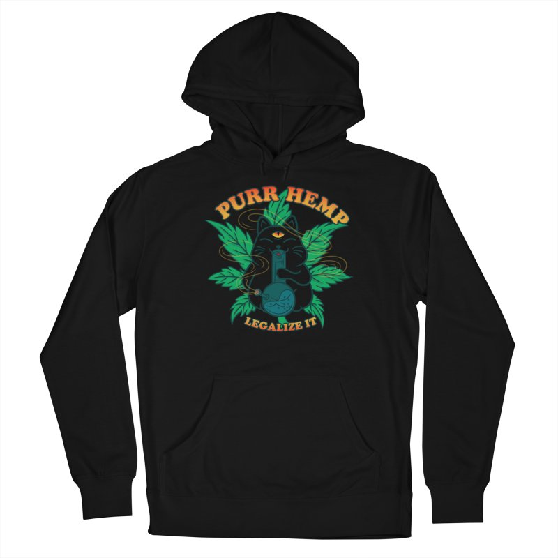 PURR HEMP Men's French Terry Pullover Hoody by Opippi