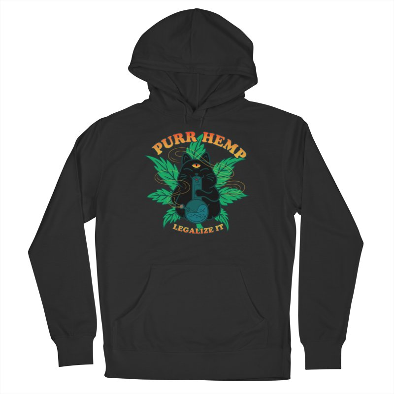 PURR HEMP Women's French Terry Pullover Hoody by Opippi