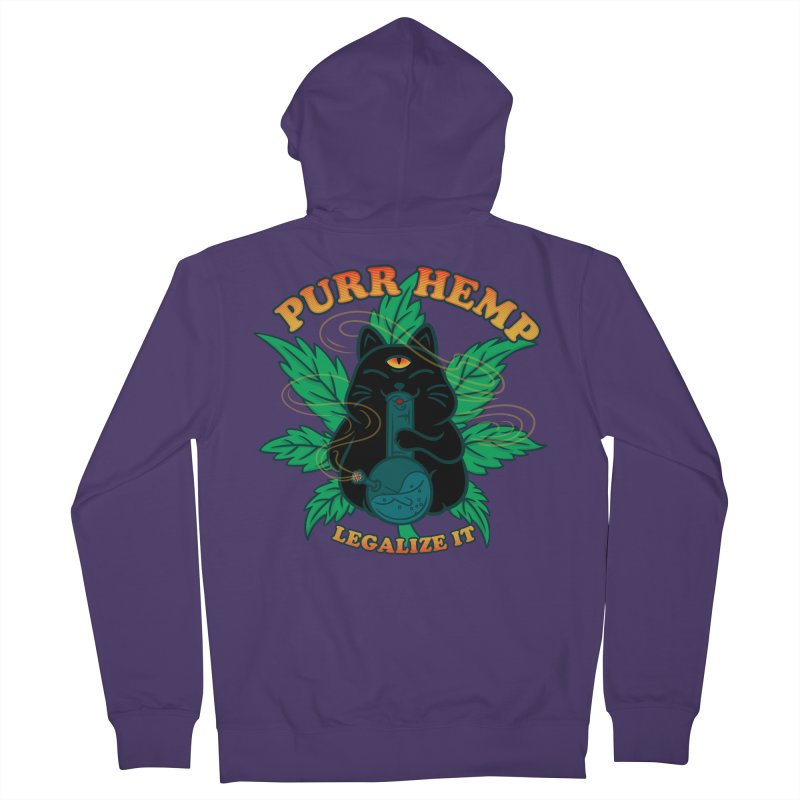 PURR HEMP Women's French Terry Zip-Up Hoody by Opippi