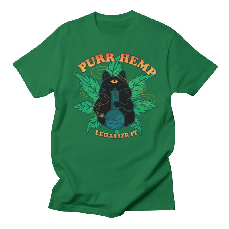 PURR HEMP Men's Regular T-Shirt by Opippi