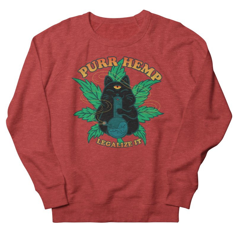 PURR HEMP Men's Sweatshirt by Opippi