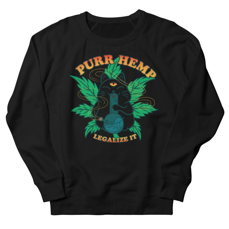 PURR HEMP Men's French Terry Sweatshirt by Opippi