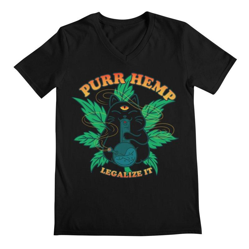 PURR HEMP Men's Regular V-Neck by Opippi