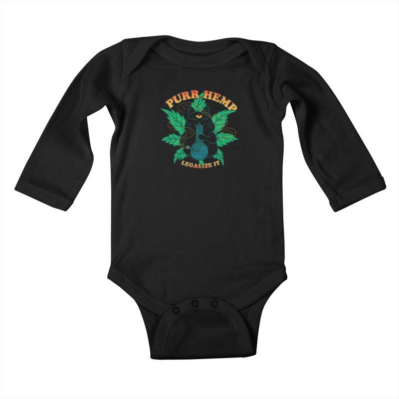 PURR HEMP Kids Baby Longsleeve Bodysuit by Opippi