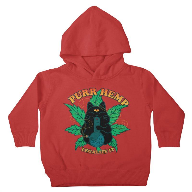 PURR HEMP Kids Toddler Pullover Hoody by Opippi