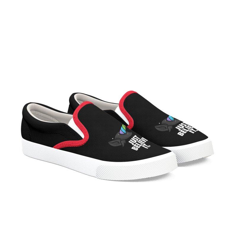 Just Believe it Women's Slip-On Shoes by Opippi