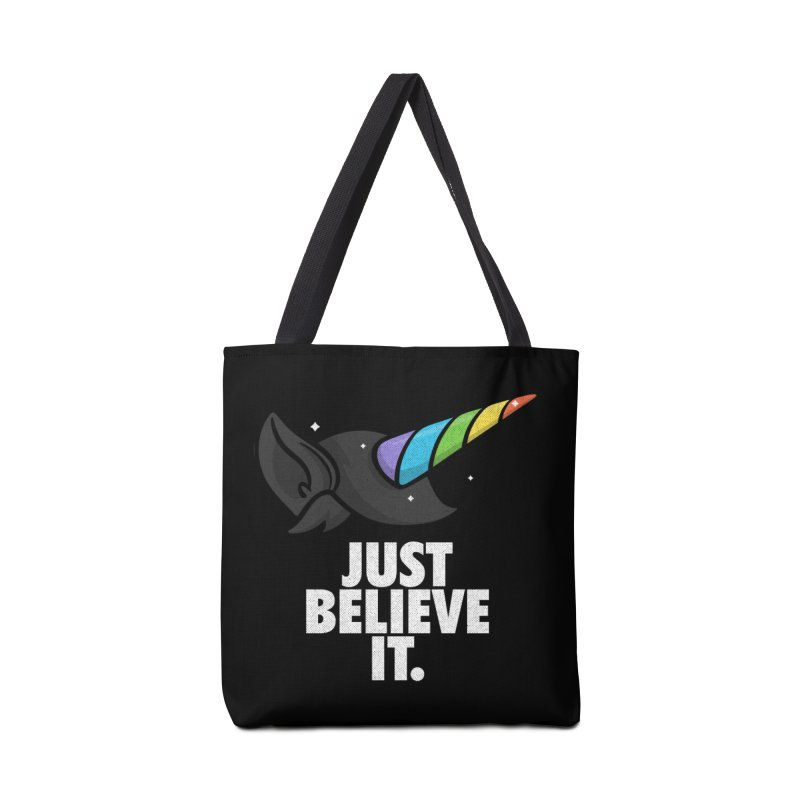 Just Believe it Accessories Tote Bag Bag by Opippi