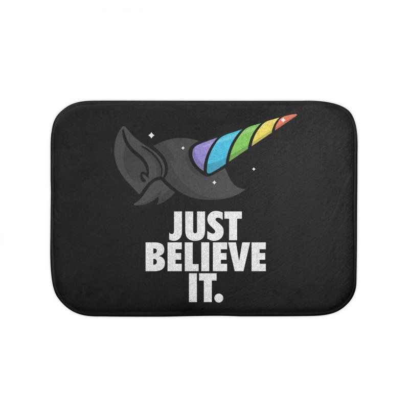 Just Believe it Home Bath Mat by Opippi
