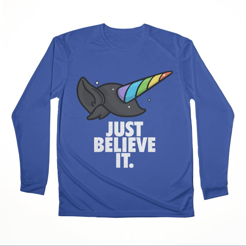 Just Believe it Men's Performance Longsleeve T-Shirt by Opippi
