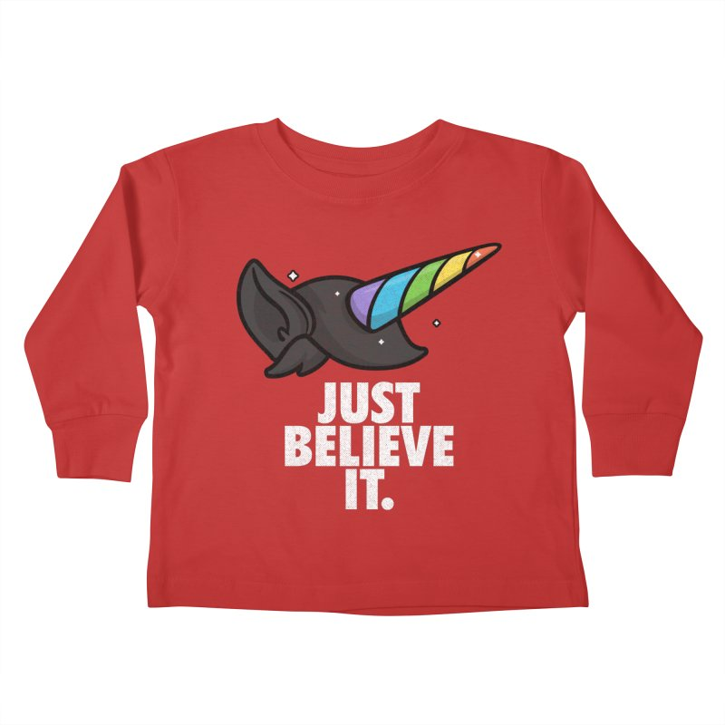 Just Believe it Kids Toddler Longsleeve T-Shirt by Opippi