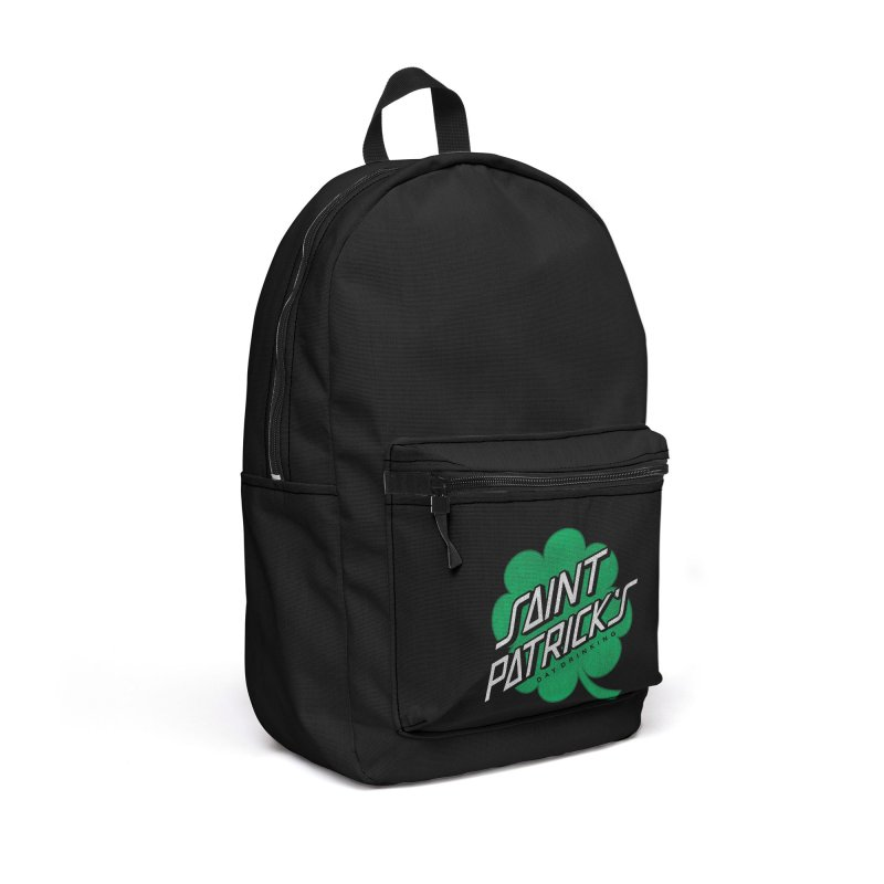 Saint Patrick's Day drinking Accessories Backpack Bag by Opippi