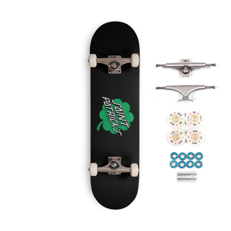 Saint Patrick's Day drinking Accessories Complete - Premium Skateboard by Opippi