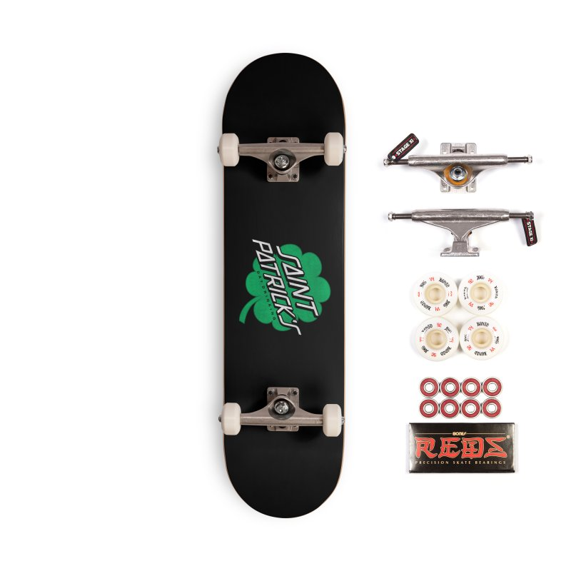 Saint Patrick's Day drinking Accessories Complete - Pro Skateboard by Opippi