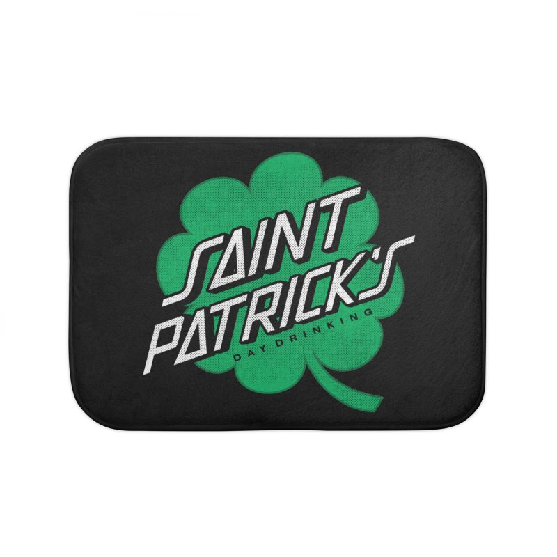 Saint Patrick's Day drinking Home Bath Mat by Opippi