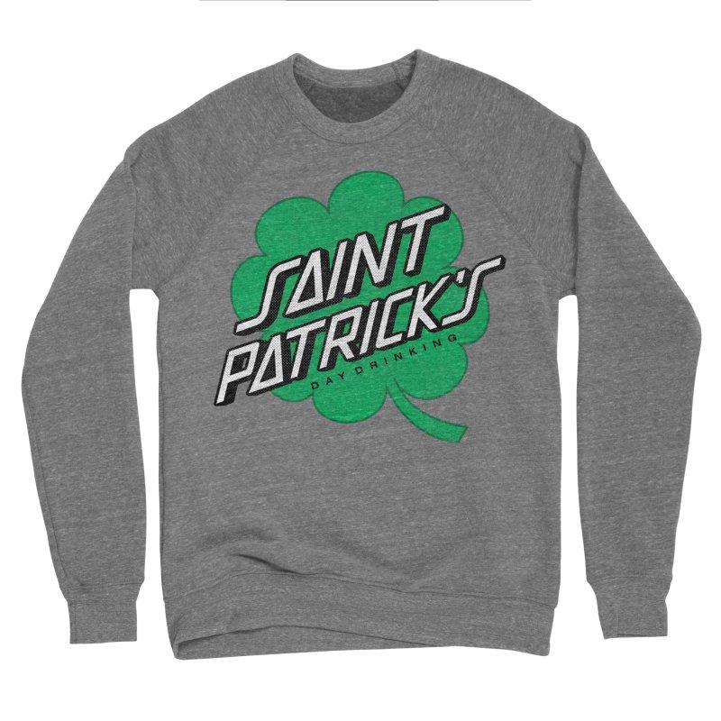 Saint Patrick's Day drinking Men's Sponge Fleece Sweatshirt by Opippi